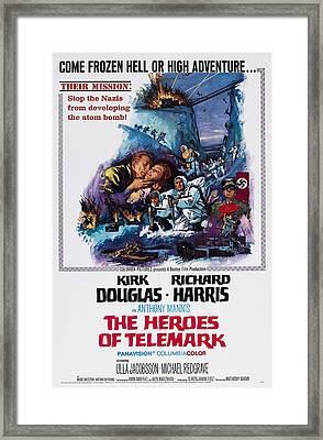 The Heroes Of Telemark, Us Poster Art Framed Print
