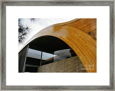 The Herron House Designed By Architect Victor Lundy 1961 Framed Print by The Harrington Collection