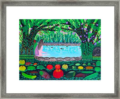 The Hidden Water Framed Print