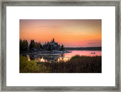 The Hide Away Framed Print