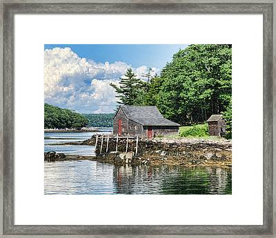The Hideaway Framed Print
