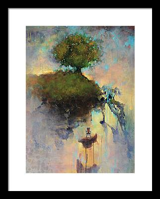 Tree Paintings Framed Prints