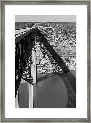 The High Bridge Framed Print