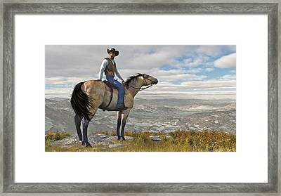 The High Country Framed Print