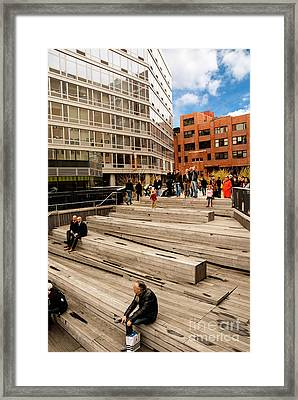The High Line Urban Park New York Citiy Framed Print
