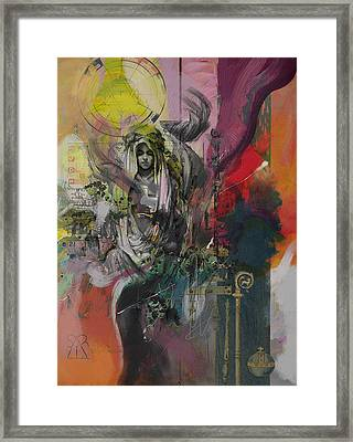 The High Priestess Framed Print by Corporate Art Task Force