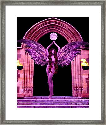The High Priestess Framed Print by Steed Edwards