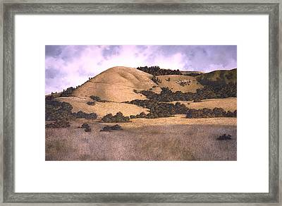 The Highlands Framed Print