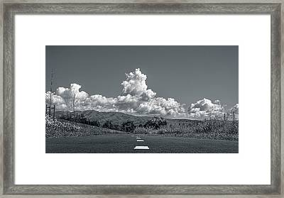 The Hight Road Framed Print