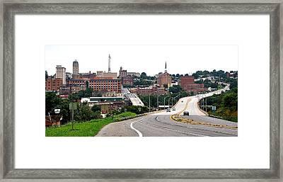 The Hill City Lynchburg Va Framed Print
