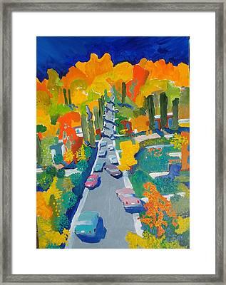 The Hill Framed Print by Rodger Ellingson