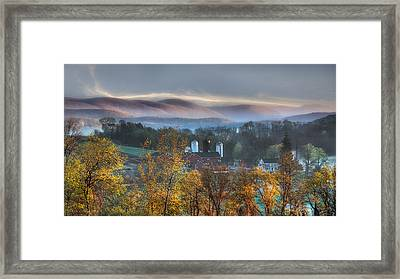 The Hills Framed Print by Bill Wakeley