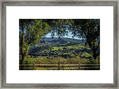 The Hills Framed Print by Ernie Echols
