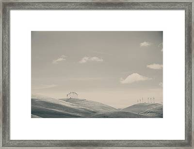 The Hills Framed Print by Laurie Search