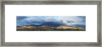 The Hills Of Ashland Framed Print