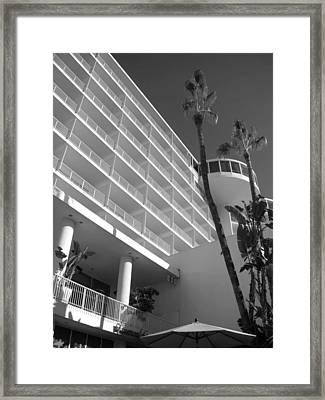 The Hilton Framed Print by Brynn Ditsche