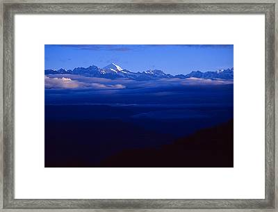 The Himalayas Framed Print
