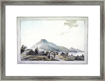 The Hippah, New Zealand Framed Print by British Library