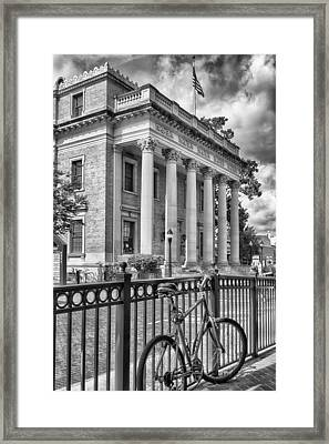 Framed Print featuring the photograph The Hippodrome Theatre by Howard Salmon