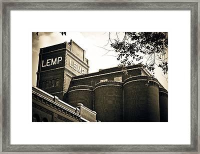The Historic Lemp Brewery Framed Print