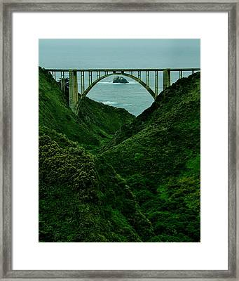 The Historic Pch Framed Print by Benjamin Yeager