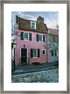 The Historic Pink House In Charleston 1690 Framed Print by Pierre Leclerc Photography