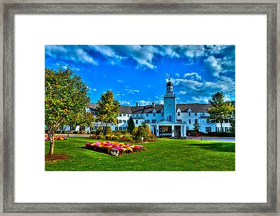 The Historic Sagamore Resort Framed Print by David Patterson