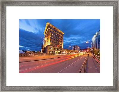 The Historic Wilma Theatre Building Framed Print