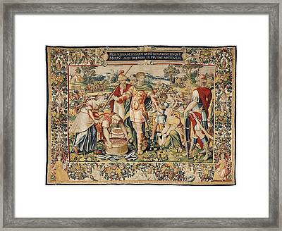 The History Of Hannibal The Plunder Framed Print