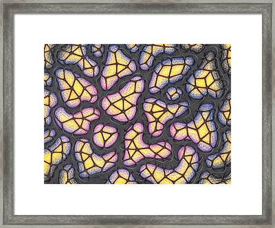 The Hive Framed Print by Joe Burgess