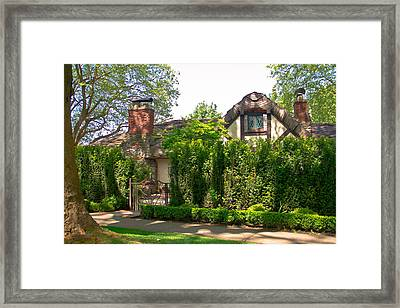 The Hobbit Neighbor  Framed Print by Eti Reid