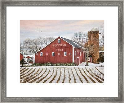 The Hoffman Farm Framed Print
