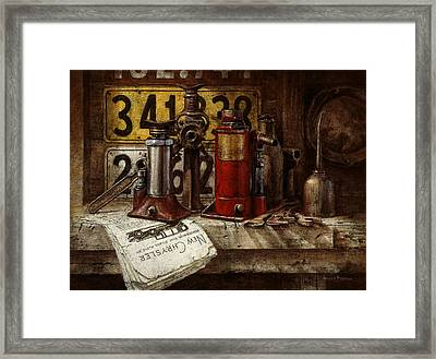The Hold-up Gang Framed Print by Graham Braddock