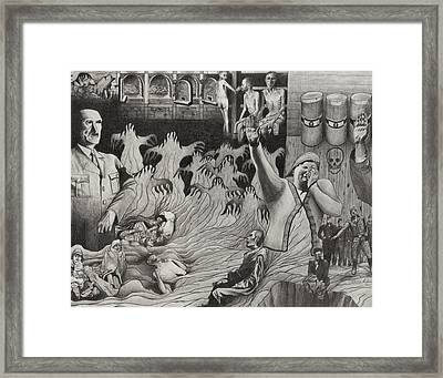 The Holocaust Framed Print by Dennis Nadeau