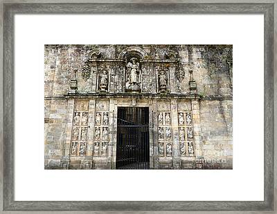 The Holy Door Framed Print
