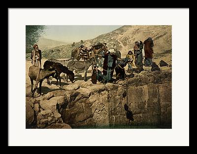 Holy Land Digital Art Framed Prints
