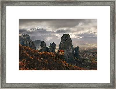 The Holy Rocks Framed Print