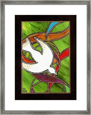 The Holy Spirit Framed Print by Jim Harris