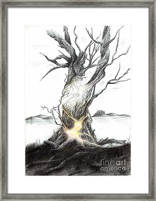 The Holy Thing Framed Print by Alexandra Wieser