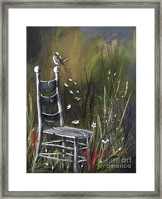 The Homecoming Framed Print by Sharon Burger
