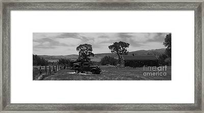 The Homestead Framed Print by Janice Westerberg