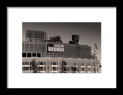 Ohio Stadium Framed Prints