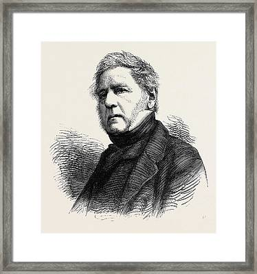 The Hon. H.j. Rous Framed Print by English School