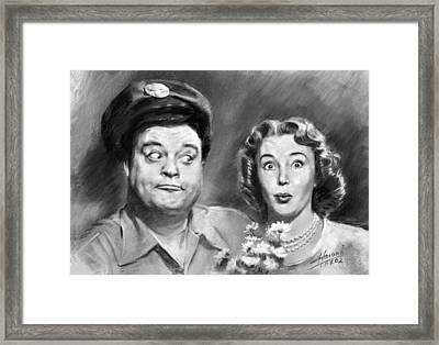 The Honeymooners Framed Print