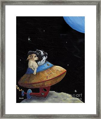 The Honeymooners Framed Print by Robin Wiesneth