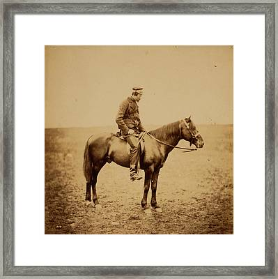 The Honourable Major Cathcart Framed Print by Quint Lox