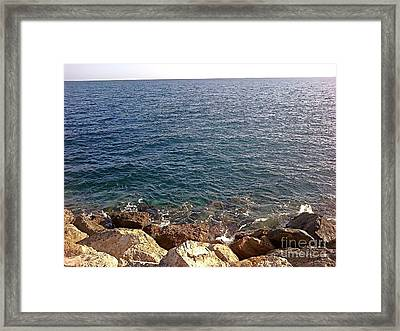 The Horizon Framed Print by Anahit Kostanian