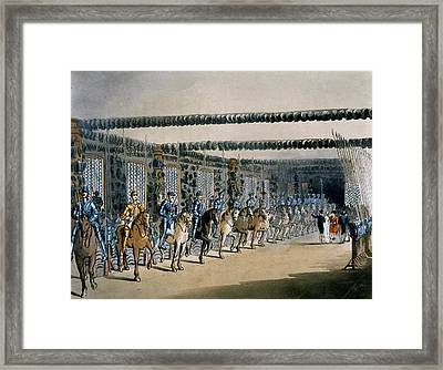 The Horse Armour Tower, Print Made Framed Print by T. & Pugin, A.C. Rowlandson