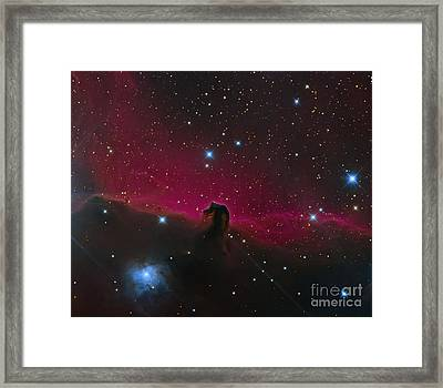 The Horsehead Nebula Framed Print by Michael Miller