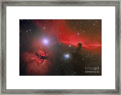 The Horsehead Nebula Framed Print